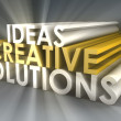 Stock Photo: Creative Ideas and Solutions