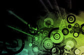 Partying Nightlife Abstract Background — Stock Photo
