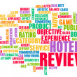 Hotel Review — Stock Photo