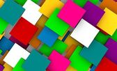 3D Squares Background — Stock Photo