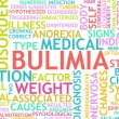 Bulimia — Stock Photo