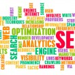 Royalty-Free Stock Photo: Search Engine Optimization or SEO Word Cloud