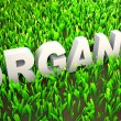 Foto Stock: Organically Grown