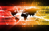 Orange Information Technology — Stock Photo