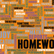 Stock Photo: homework