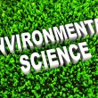 Stock Photo: Environmental Science