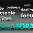 Stock Photo: Collaborate at Forefront