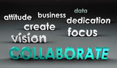 Collaborate at the Forefront — Stock Photo