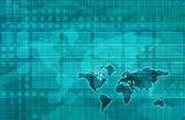 Telecommunications Network — Stock Photo