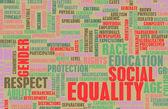 Social Equality — Stock Photo