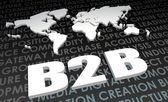 Background B2B — Stock Photo