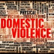 Stock Photo: Domestic Violence