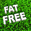 Stock Photo: Fat Free