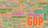 GDP — Stock Photo