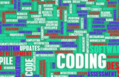 Coding — Stock Photo