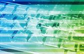 Global Information Technology — Stock Photo