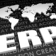 ERP Industry Global Standard — Stock Photo