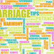 Foto Stock: Marriage Advice