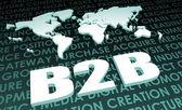 B2B Industry Global Standard — Stock Photo
