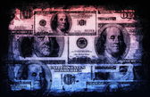 American US Dollars Currency Abstract — Stock Photo
