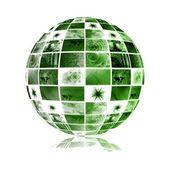 Telecommunications Industry Global Network — Stock Photo