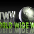 World Wide Web — Stock fotografie