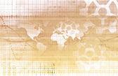 Globální partnerství — Stock fotografie