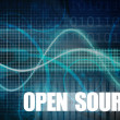 Stock Photo: Open Source