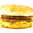 Big Juicy Hamburger — Stock Photo #27418815
