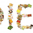 Healthy Diet Collage — Stock Photo #27419873