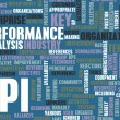 KPI or Key Performance Indicator as Concept — Foto de stock #27420243