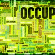 Occupy Movement — Stock Photo