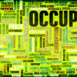 Occupy Movement — Stock Photo #27420529