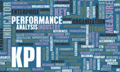 KPI or Key Performance Indicator as Concept — Stock Photo