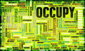 Occupy Movement — Foto Stock
