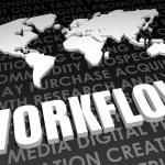 Workflow — Stock Photo #27438779
