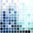 Stock Photo: Blue Simplistic and Minimalist Abstract