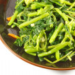 Steamed Green Vegetables — 图库照片