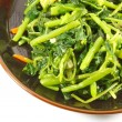 Steamed Green Vegetables — Stock Photo