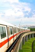 Train Subway Carriage Approaching — Stock Photo