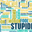 Stupidity — Stock Photo