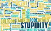 Stupidity — Stock Photo