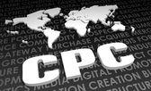 CPC background — Stock Photo