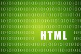 HTML — Stock Photo