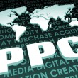 PPC Industry Global Standard on 3D Map — Stock Photo