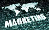 Marketing — Stockfoto