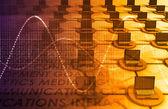 Technology Network — Stock Photo