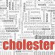 High Cholesterol — Stock Photo
