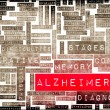 Alzheimer's — Stock Photo