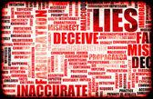 Lies — Stock Photo